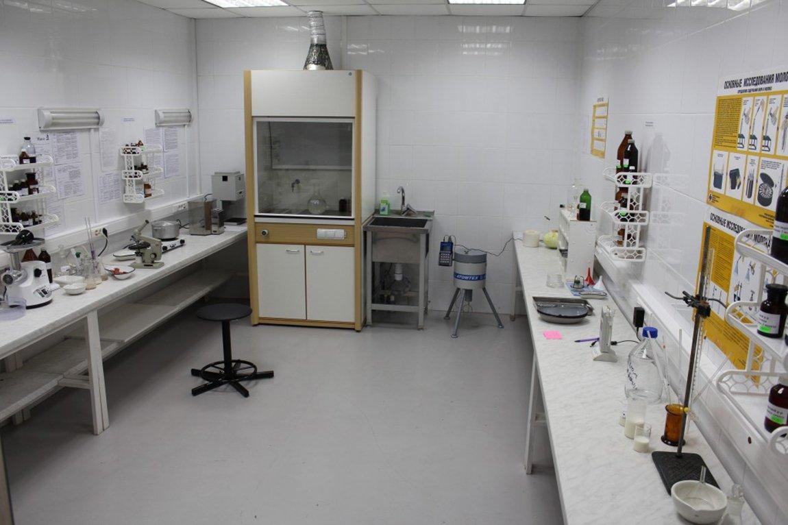 Ветеринарная лаборатория на Фермерском